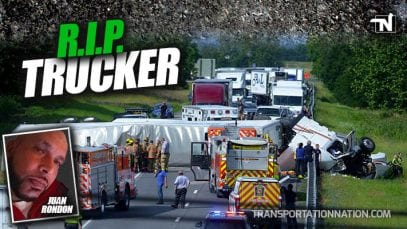 Metropolitan Trucker Juan Rondon killed in single vehicle accident