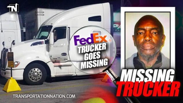 Missing Trucker – Bertram Moore – FedEx Driver