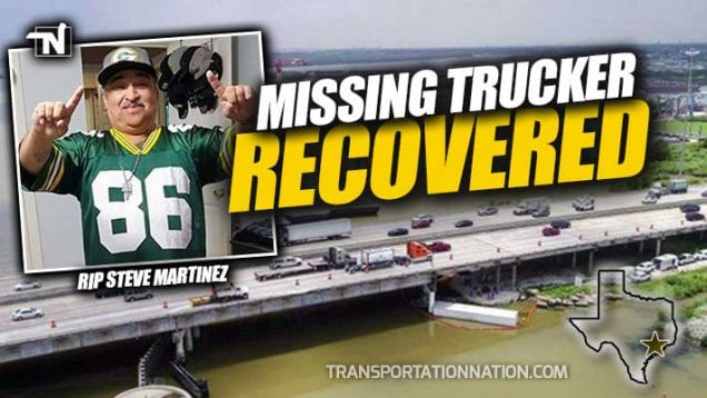 Missing Trucker Recovered from San Jacino River – Steve Martinez