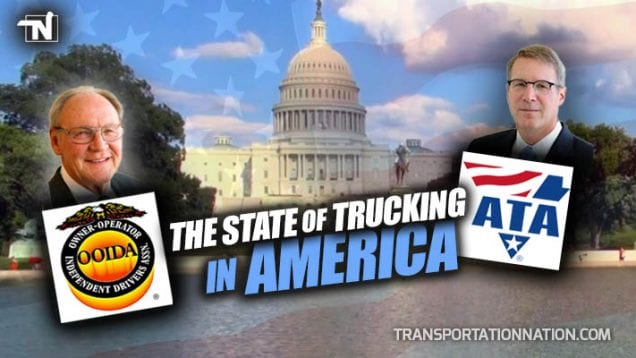 OOIDA and ATA in Washington DC – The State of Trucking in America