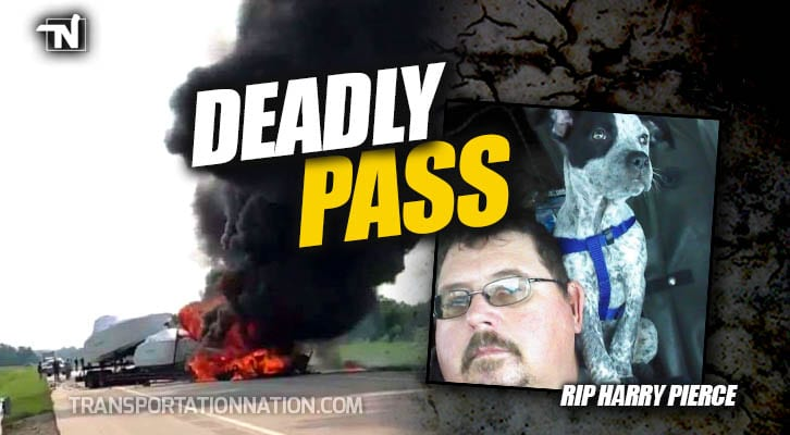 Trucker Killed After Motorist Makes Deadly Pass Attempt