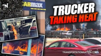Trucker Taking Heat for 2.1 Million Dollar Fire at CarMax
