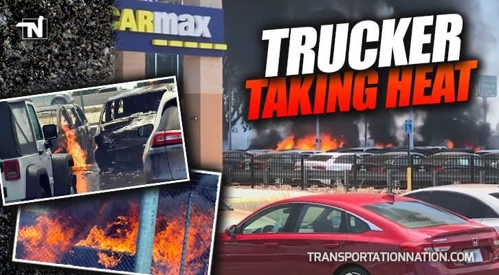 Witnesses Say Trucker Sparked Fire That Caused 2 1 Million In Auto