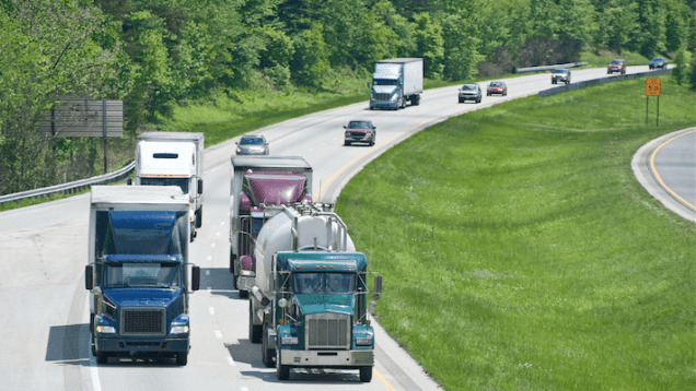 Trucking Conditions Improve Slightly In April