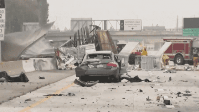 USPS Truck Driver Dies In Collision Along SR-22 In Garden Grove CA