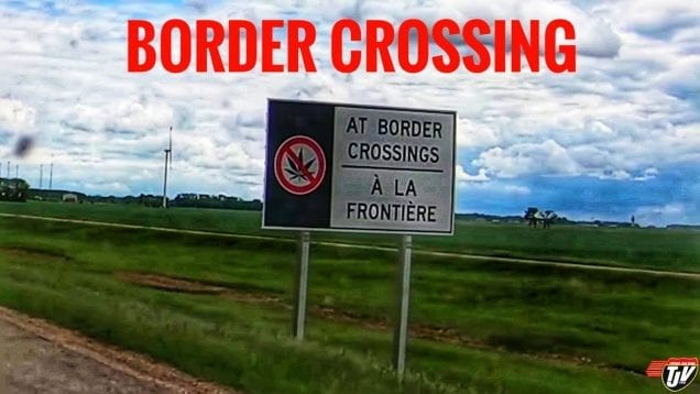 My Trucking Life | BORDER CROSSING | #1738