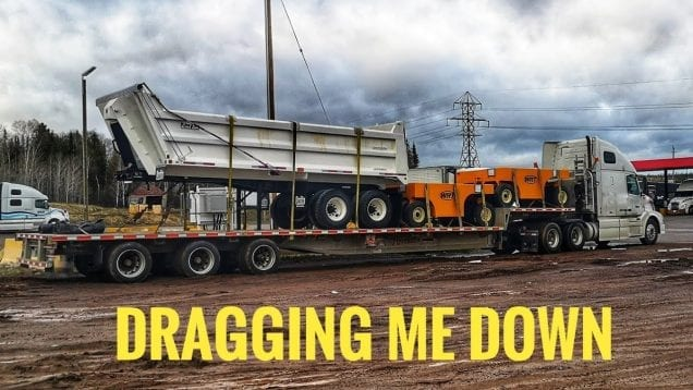 My Trucking Life | DRAGGING ME DOWN | #1721