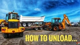 My Trucking Life | HOW TO UNLOAD… | #1722