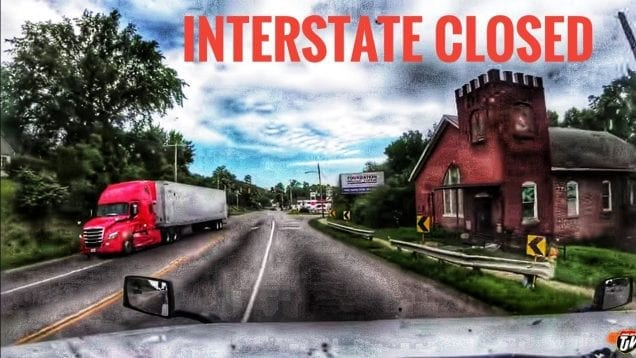 My Trucking Life | INTERSTATE CLOSED | #1730