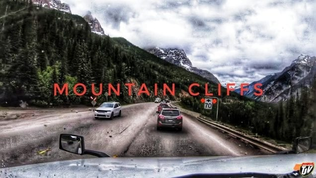 My Trucking Life | MOUNTAIN CLIFFS ⛰️ | #1735