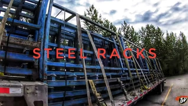 My Trucking Life | STEEL RACKS | #1737