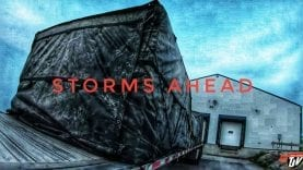 My Trucking Life | STORMS AHEAD | #1729