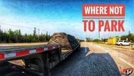 My Trucking Life | WHERE NOT TO PARK? | #1726