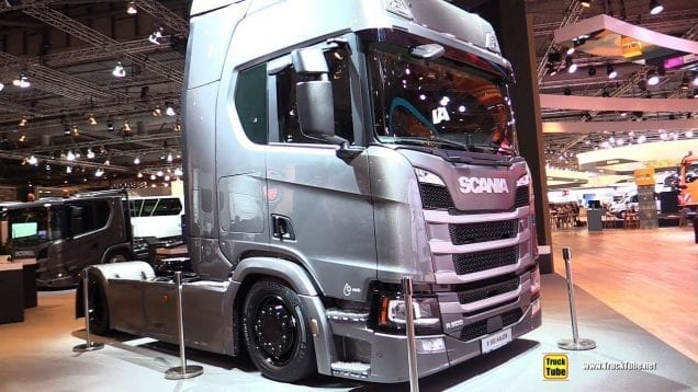 2019 Scania R500 A4x2 EB Tractor – Exterior and Interior Walk Around