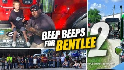 Beep Beeps for Bentley Trucker Convoy for Sick Boy 2