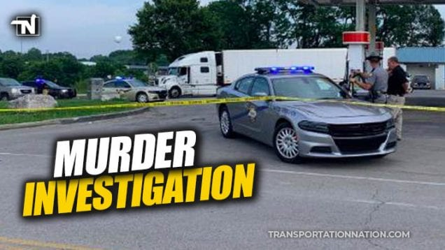Body of man found in cab of big rig – Kentucky State Police say death is suspicious – MURDER INVESTIGATION
