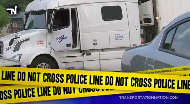 Discovery Of Dead Body Inside Semi-Truck At Gas Station Is