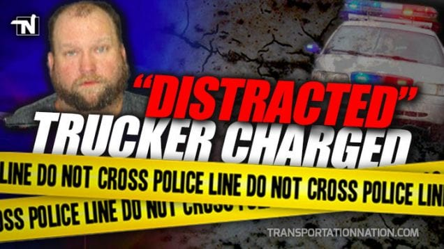 Distracted Trucker Charged in Death – Robert Snyder, Troy Smith, Nebraska