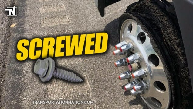 Dozens of motorists with flat tires after roofing screws spill into Mississippi highway