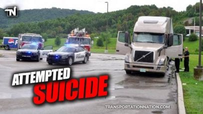 Florida Trucker Attempts Suicide by Hanging in Kentucky