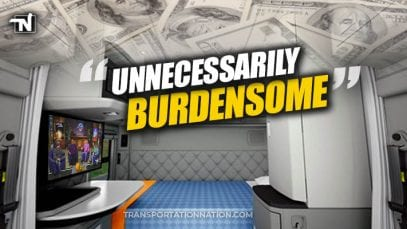 Paying Truckers For Off-Duty Time In Sleeper Berth Is Unnecessarily Burdensome