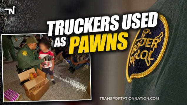Truckers Used As Pawns – Human Smuggling in Big Rigs
