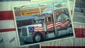 Awesome Patriotic Semi-Trucks!