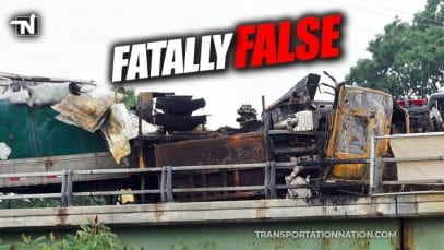 glens falls fatal two semi truck crash