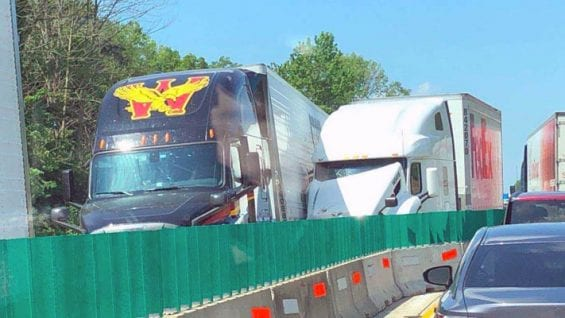 Trucker Charged After Rear-End Crash Leaves 3 People Dead On