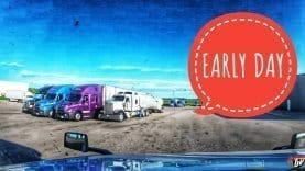 My Trucking Life | EARLY DAY | #1765