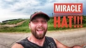 My Trucking Life | MIRACLE HAT!!! | #1760