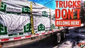 My Trucking Life | TRUCKS DON'T BELONG HERE! | #1759
