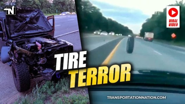 tire terror on route 440 in new jersey