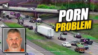 trucker watching porn charged after accident killed construction worker