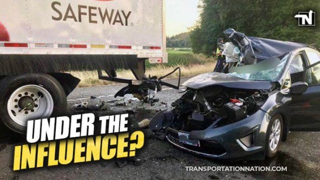under the influence – fatal crash in oregon