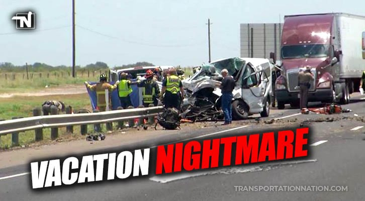 5 Vacationers Including 2 Children Killed In 3-Vehicle Crash