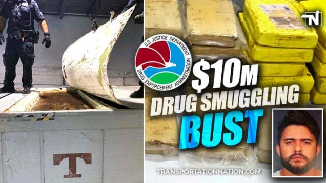 $10 drug smuggling bust in new york