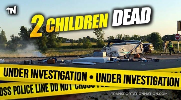Two Children Tragically Killed After SUV Turns In Front Of