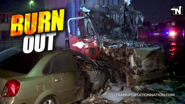 Burn out – fire in san diego