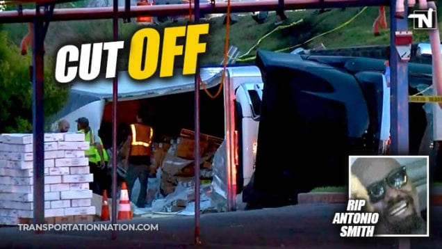 Cut Off – Georgia Trucker Dies After Being Cut Off – RIP Antonion Smith