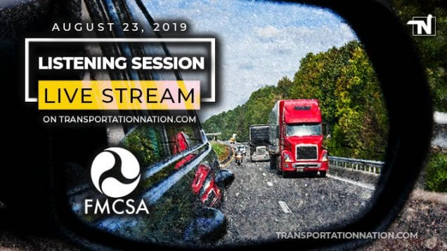 FMCSA Live Stream on August 23 2019