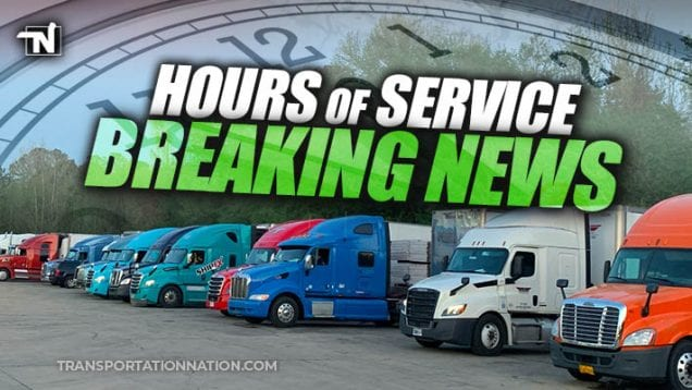 Hours of Service – breaking news – FMCSA