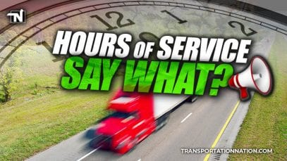 Hours of Service – say what – reaction