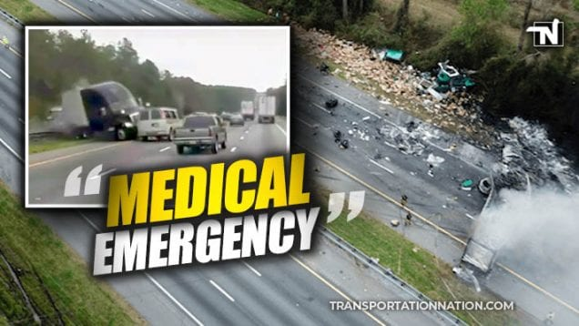 I-75 – CEO says there was a medical emergency that led to the crash