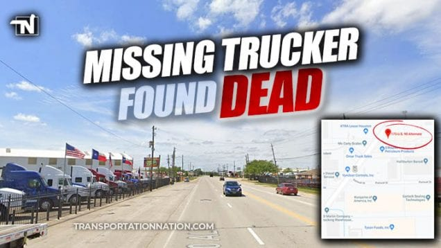 Missing Trucker Found Dead with Load Stolen in Houston