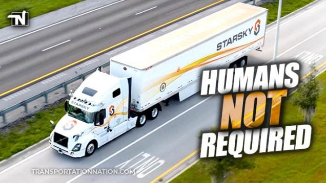 Starsky Robotics – humans not required