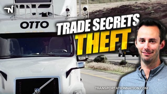 anthony levandowski – trade secrets theft – otto