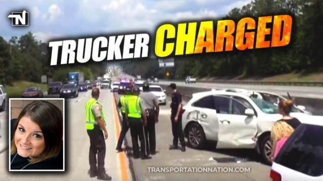 fatal accident – jennifer thomas – trucker charged