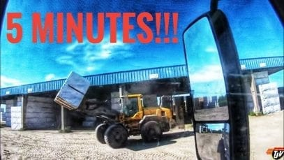 My Trucking Life   5 MINUTES!!!   #1774
