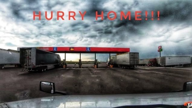 My Trucking Life | HURRY HOME!!! | #1775